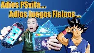 Adios PSvita y Juegos de PSvita Definitivamente - Cese de Producción TOTAL