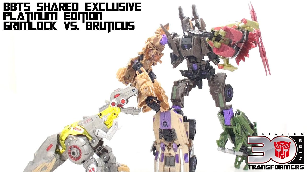 Fall Of Cybertron Wallpaper Hd Video Review Of The Platinum Edition Grimlock Vs