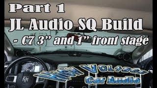 PART 1 - JL AUDIO SQ BUILD IN 2011 DODGE RAM 1500