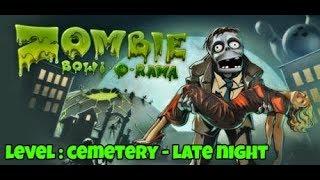 ZOMBIE BOWL-O-RAMA PC GAMEPLAY   LEVEL : CEMETERY - LATE NIGHT   MK Gamers