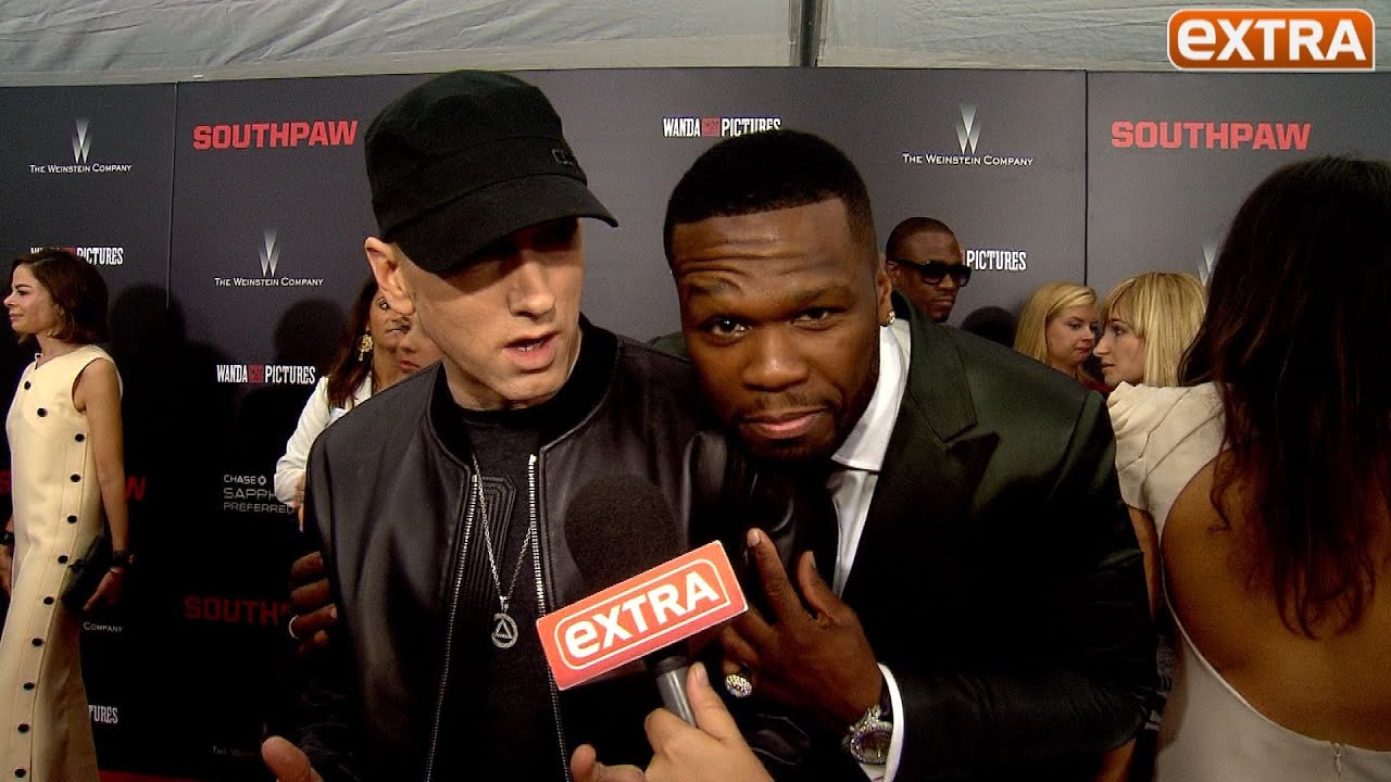 eminem relationship with 50 cent