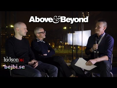 Above & Beyond interview, Stockholm - 2015