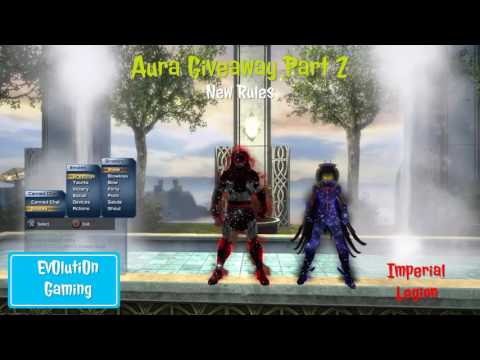 DCUO | Aura Giveaway Part 2 New Rules