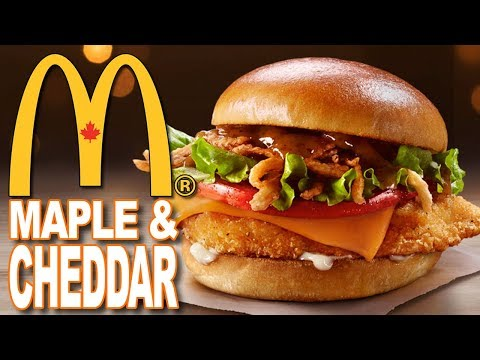 McDonald's Maple & Cheddar Crispy Chicken Sandwich