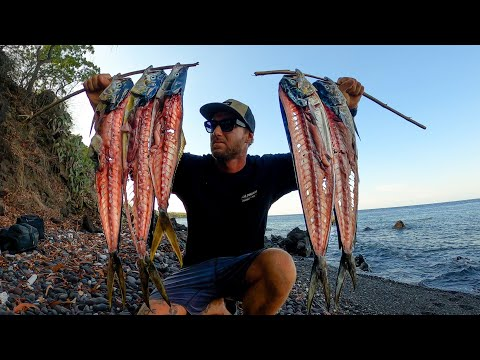 A solo camping CATCH AND COOK MISSION. Which fish taste better? EP39