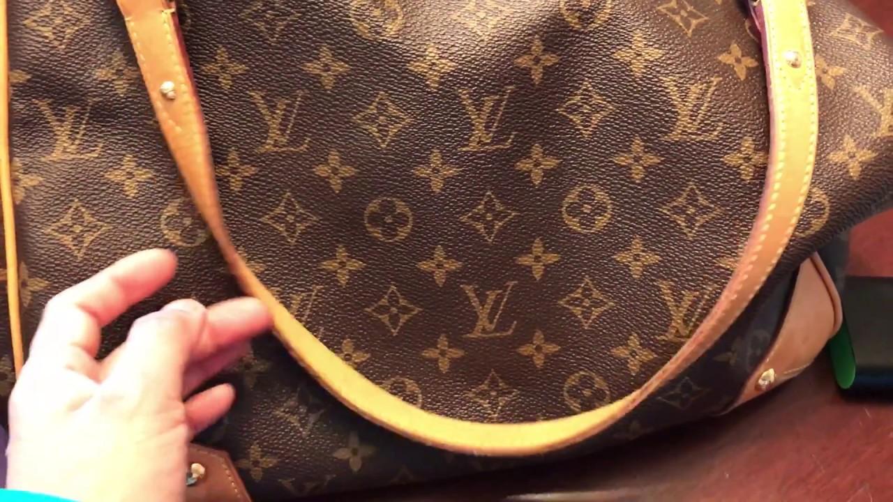 HOW TO SPOT AUTHENTIC LOUIS VUITTON ESTRELLA SHOULDER BAG ...