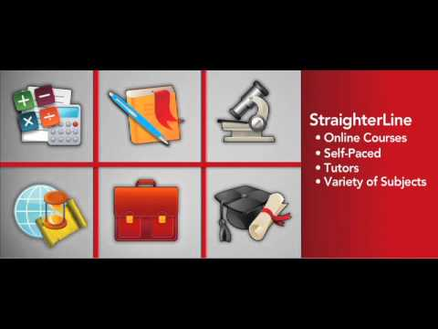 What is StraighterLine? College credit for $99 a month - Enroll ...