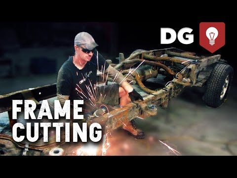 How To Shorten A Truck Frame