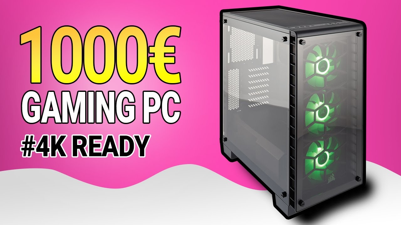 gaming pc f r 1000 april 2017 1000 euro gaming pc zusammenbauen youtube. Black Bedroom Furniture Sets. Home Design Ideas