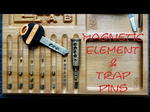 (1063) ABS Magnetic Lock with TRAPS!