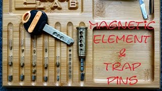 (1063) ABS Magnetic Lock with TRAP Pins!
