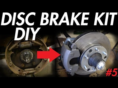 Chevy Apache – Disc Brake Kit Install DIY! (1955 – 1959 Chevy Pickup)