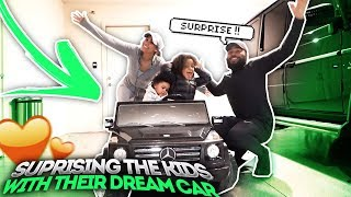 SURPRISING OUR KIDS WITH THEIR DREAM CAR!!!