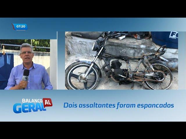 Dois assaltantes foram capturados e espancados por populares no Benedito Bentes