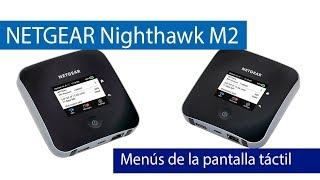 NETGEAR Nighthawk M2 Menus Pantalla Tactil