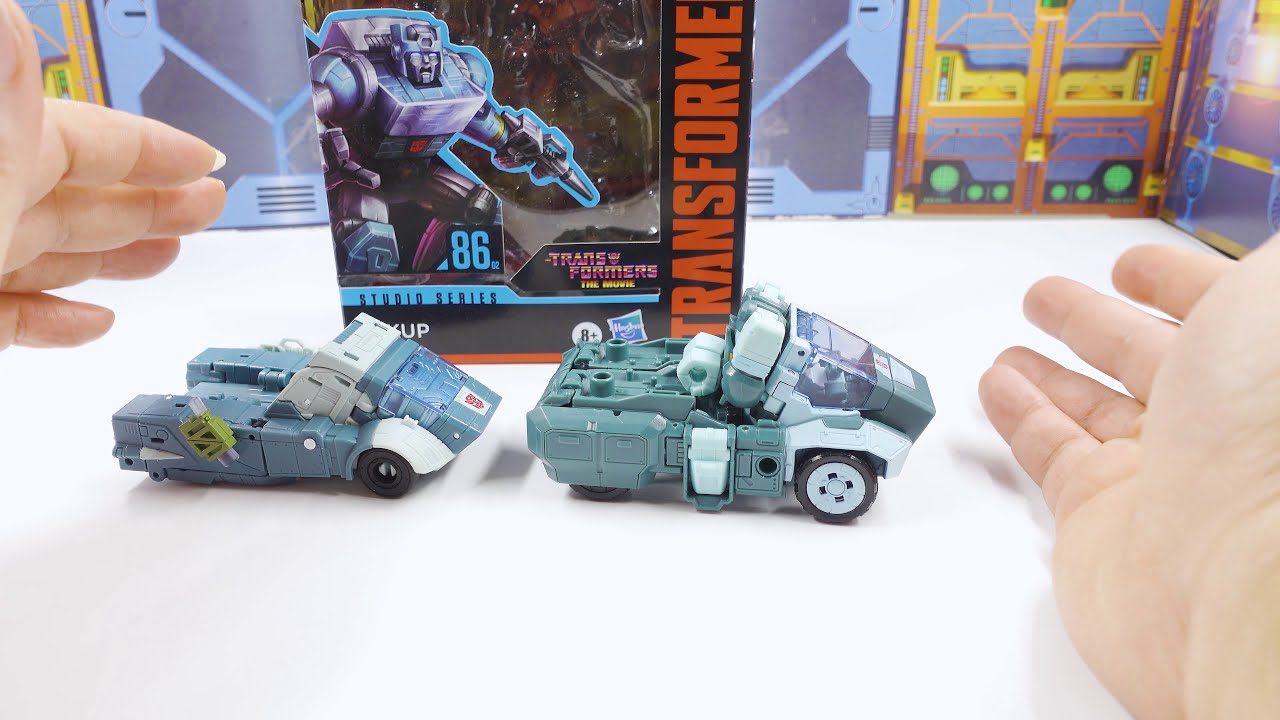 Transformers Studio Series '86 Deluxe Kup Review!! by bvzxa3