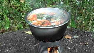 Hobo Stove Vegetable Soup