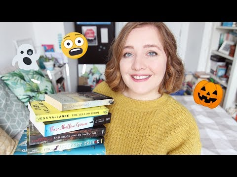 Halloween Reads for Scaredy Cats 😱
