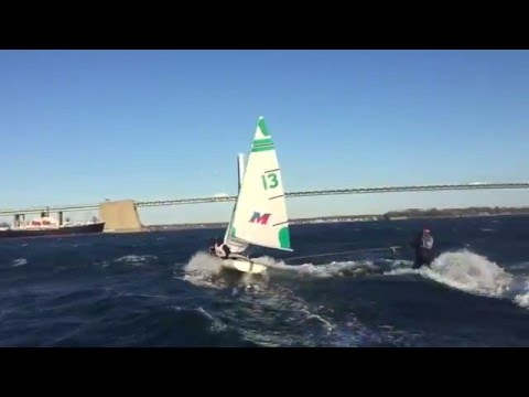 SUNY Maritime East River Surfing