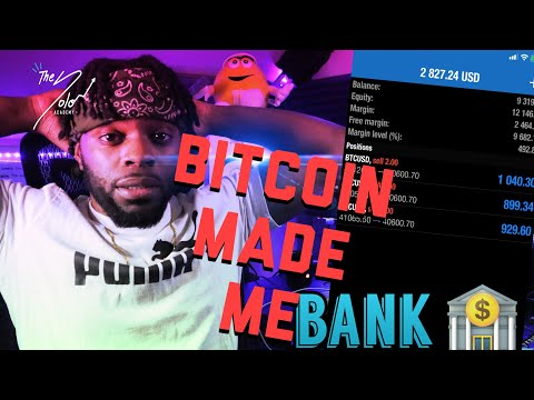 MADE $4K WITH BITCOIN | FOREX TRADING Crypto STRATEGY