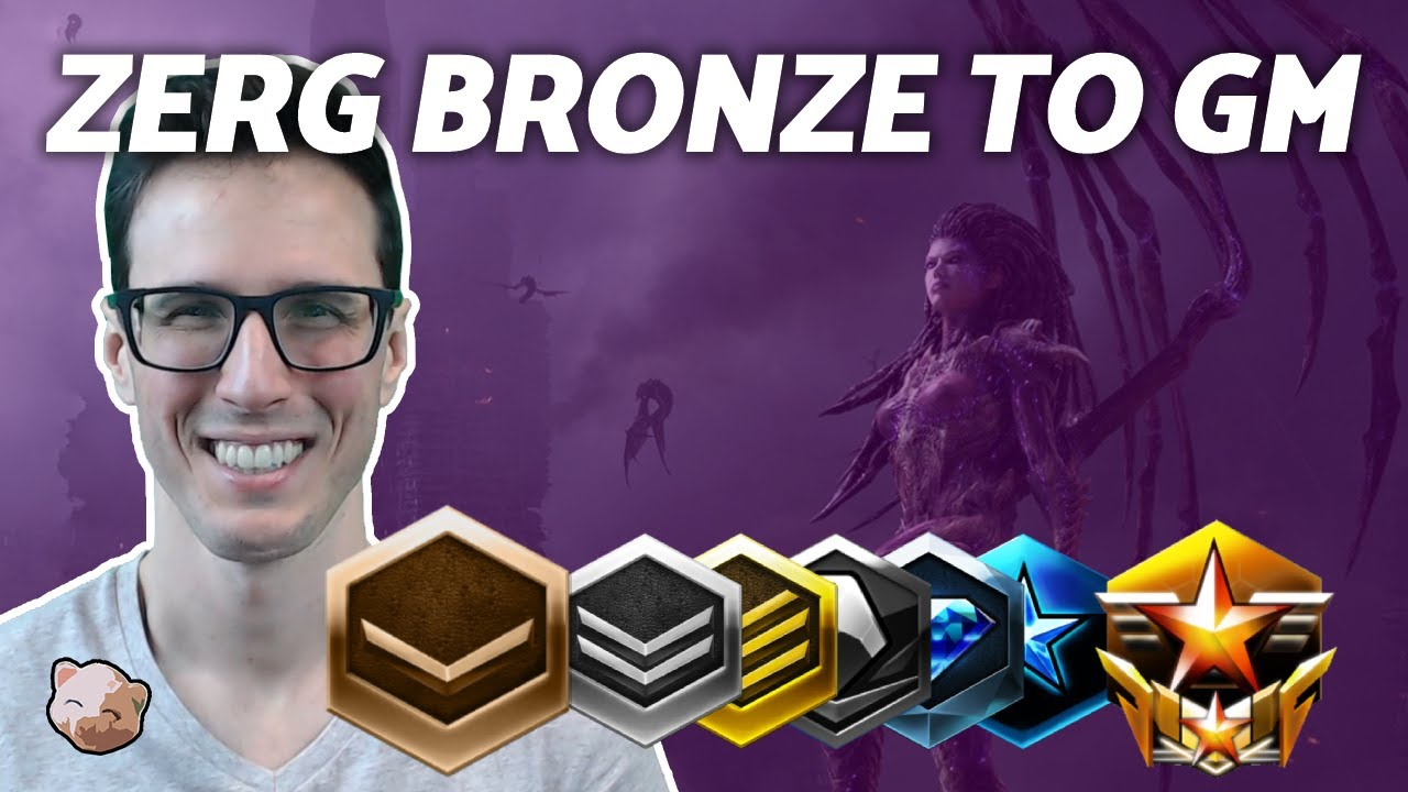 PiG's ZERG BRONZE TO GM #1: For those New to Starcraft and Bronze League