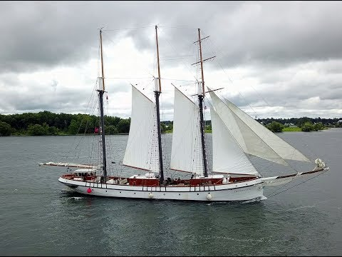 Canadian Tall Ship Empire Sandy Under Sail