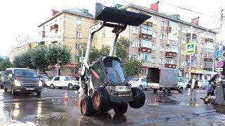 Нанотехнологичная ливневка из города Красноярска