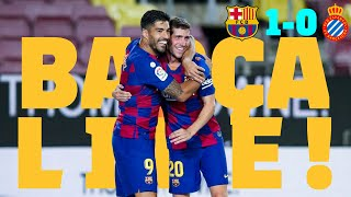 GRIEZMANN BACKHEEL & SUÁREZ GOAL 💫🙌 BARÇA LIVE | BARÇA 1-0 ESPANYOL | WARM UP & MATCH CENTER