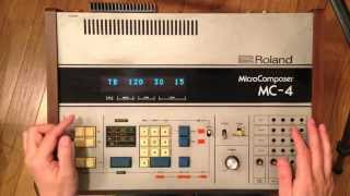 <解説3>MC-4 Digital Sequencer (Roland)