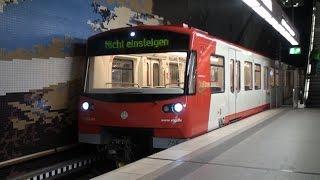 """【ニュルンベルクの悲鳴インバータ】 """"DT3"""" U-Bahn Nürnberg by Siemens"""
