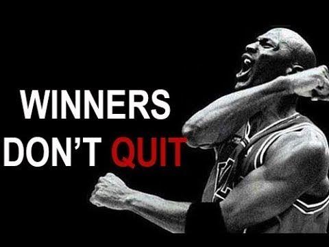 WINNERS DON'T QUIT | Motivational Speech