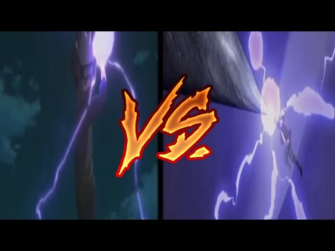 Boruto's Purple Lighting Vs Kakashi's Purple Lighting