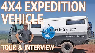EarthCruiser 4x4 Expedition Vehicle   Travel the World in an Overland Camper