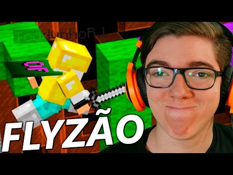 WOOL WARS: TODDYNHO USANDO FLY HACK! - Minecraft