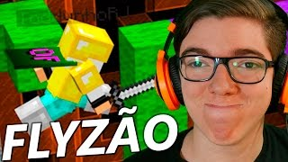 WOOL WARS: TODDYNHO USANDO FLY HACK! - Minecraft