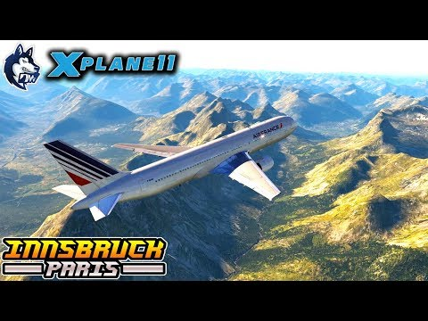 X-Plane 11 - FlightFactor B-767 - Full Flight/Tutorial INNSBRUCK