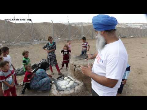 Iraq Baking Centre - Relief for refugees on Syrian/Iraq border