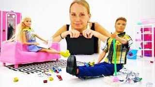 Домашні справи Барбі і Кевіна - Відео для дівчаток