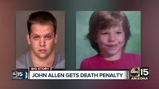 John Allen sentenced to death in young girl's death