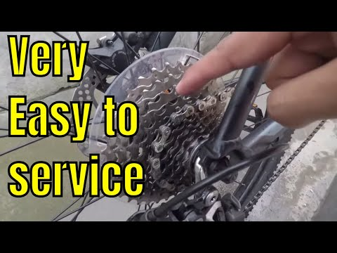 HOW TO SERVICE GEAR CYCLE IN 10 MINUTES | CYCLE RIDER ROY