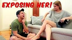 Girlfriend Test PRANK – EXPOSING HER!