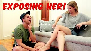 Girlfriend Test PRANK – EXPOSING HER!