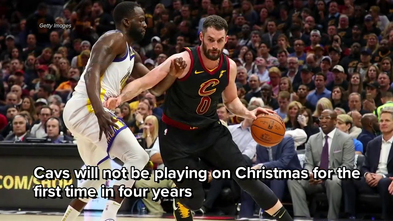 cleveland cavaliers left off of nba national tv schedule for opening