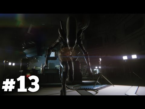 "Alien Isolation Walkthrough Gameplay Part 13 - ""The Dripping Ooze"" (PS4)"
