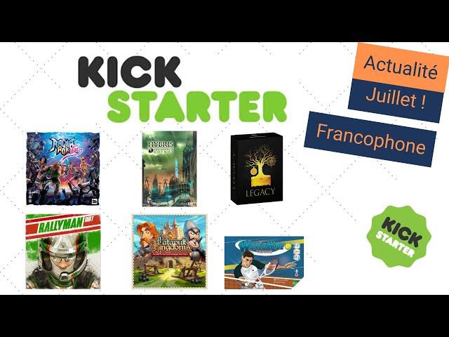 L'actualité Kickstarter de juillet (spéciale francophone) : RagnaRok Star, Hybris, ... - Actu KS #7