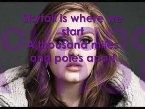 Adele Skyfall Lyrics
