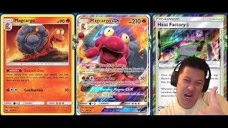 MAGCARGO GX Deck, Easy 1 Hit KO Fire GX Deck, Reusable GX For Other Build!
