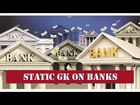 BANKING AWARENESS: STATIC GK