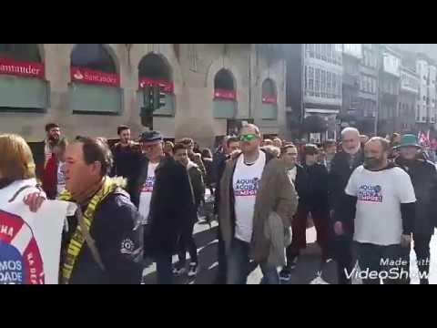 """Protesta contra os """"recortes"""" de Sanidade"""
