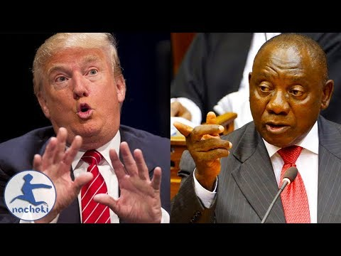 South Africa President Ramaphosa Hits Back at Trump Over Twitter Threats